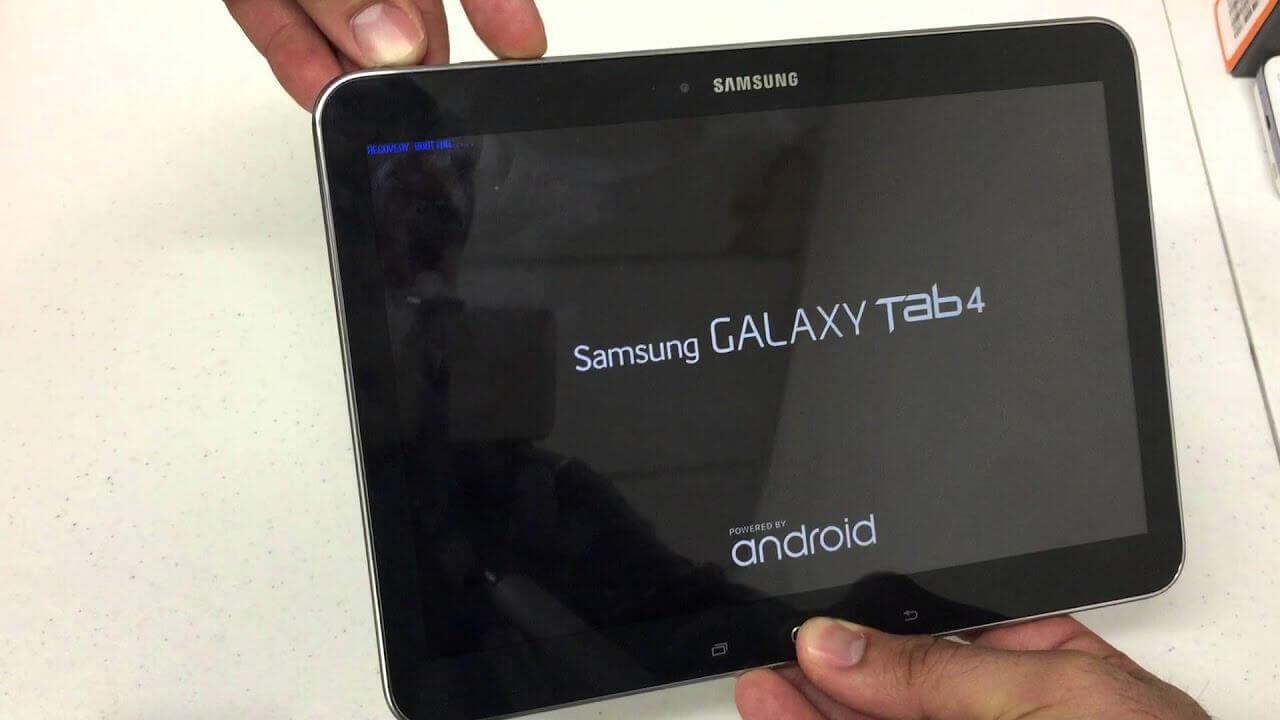 Планшет Samsung не включается
