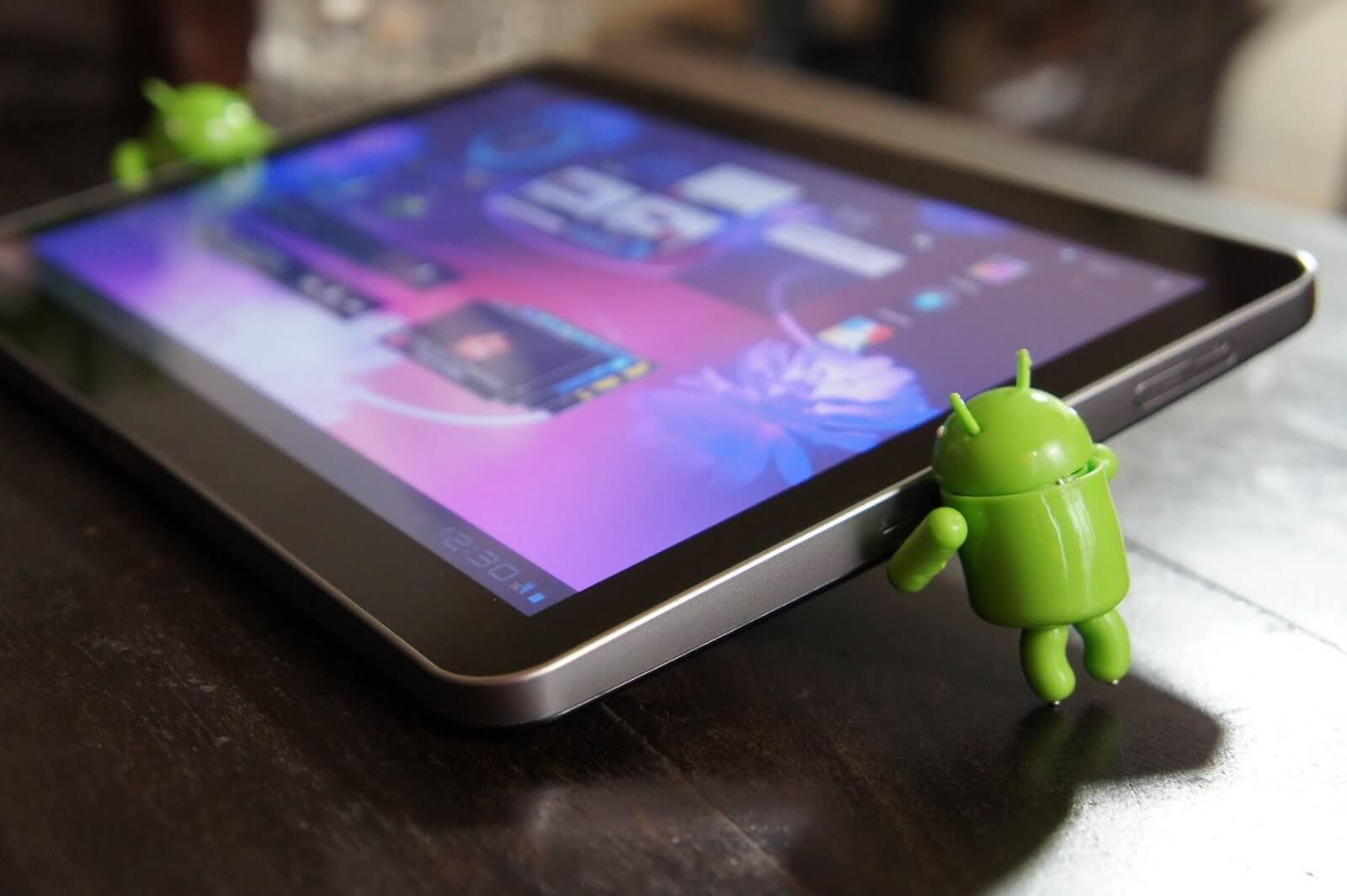 Как отформатировать планшет Samsung