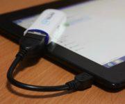 Подключение и настройка 3G и 4G модема к планшету