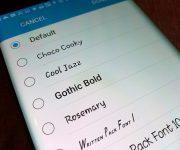 Как установить и изменить шрифт на Андроиде: цвет, размер, стиль