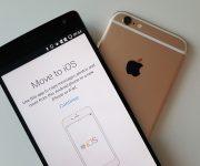 Перенос контактов с  Android на Iphone за 3 шага
